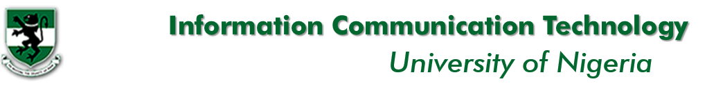 Information Communication Technology Unit, University Of Nigeria Nsukka